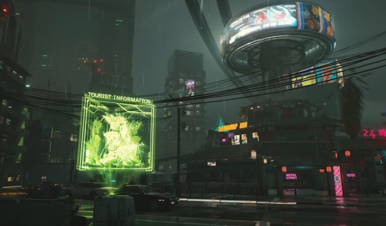 Korean Night City Wire Confirms Fast Travel, Cyberpunk 2077 Map