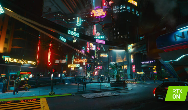 4K, RTX Enabled Cyberpunk 2077 Screenshots Show Off PC Graphics