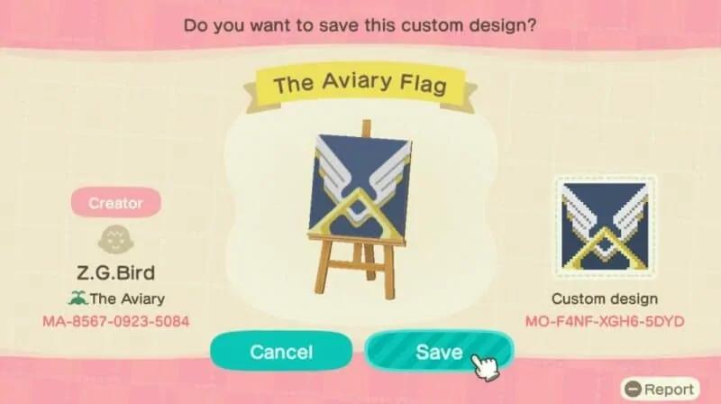 Aviary flag