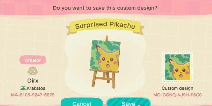 The Surprised Pikachu