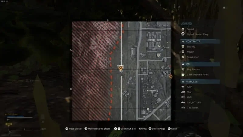 Bunker 2 & 3 Location on the map