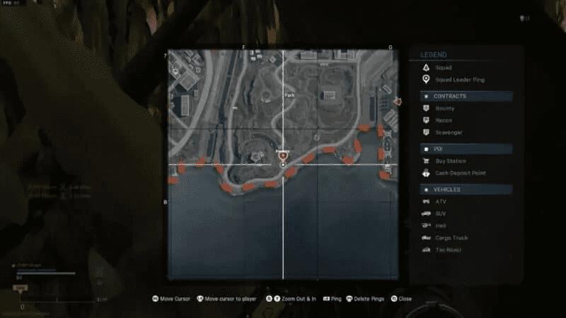 Bunker 10 on map