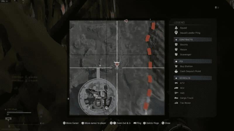 Bunker 9 on map