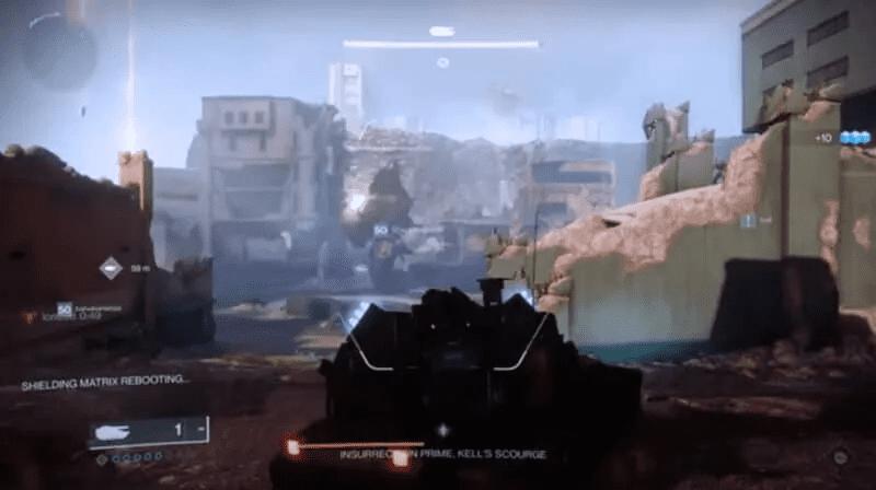 Drake Tank attacking