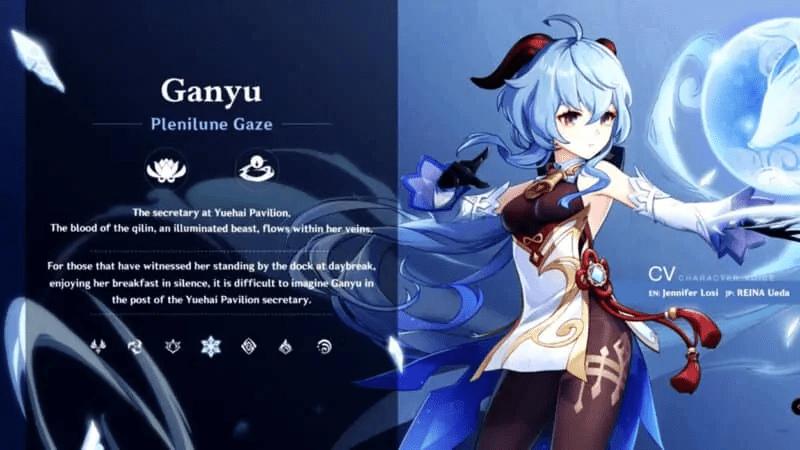 Genshin Impact Ganyu