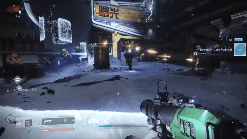 Kill Vex enemies to gather 120 Sol Divisive parts