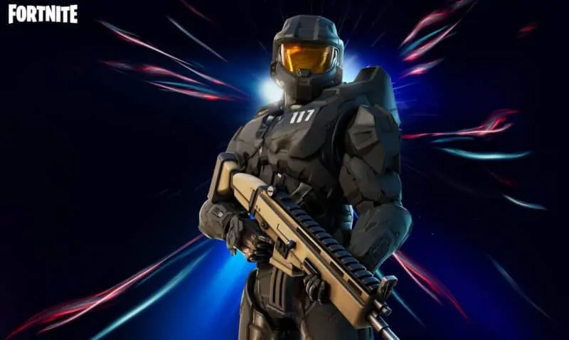 Master Chief Fortnite Matte Black Unlocked