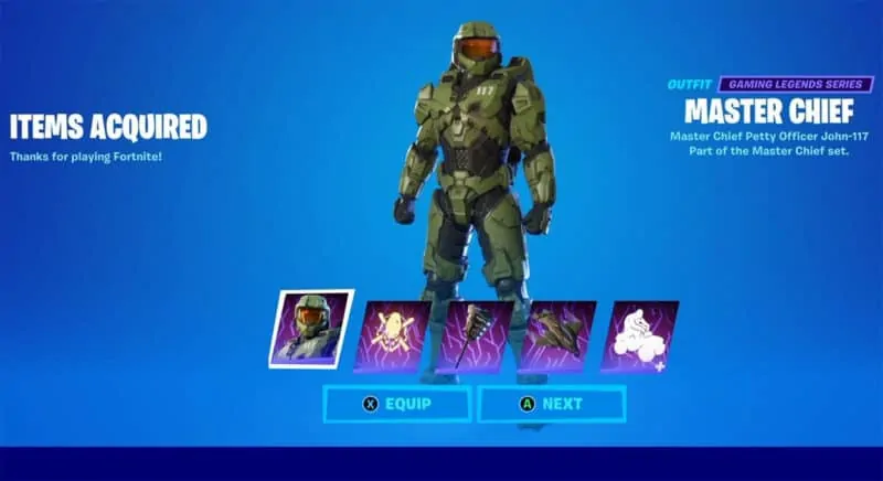 Master Chief Set