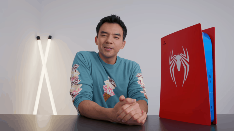 Dave 2D's Custom Spider-Man PS5