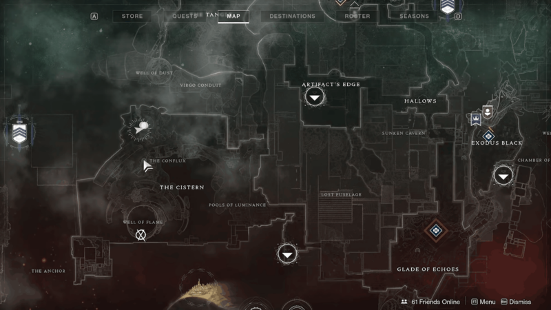 Location of The Conflux Oracle on the map