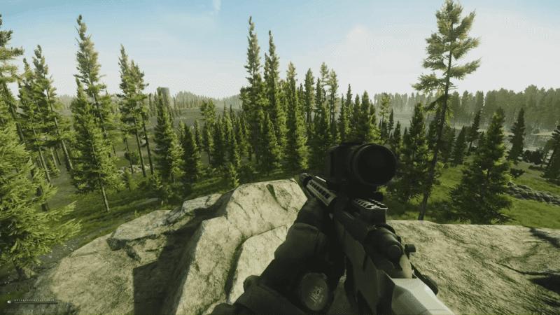Woods Map
