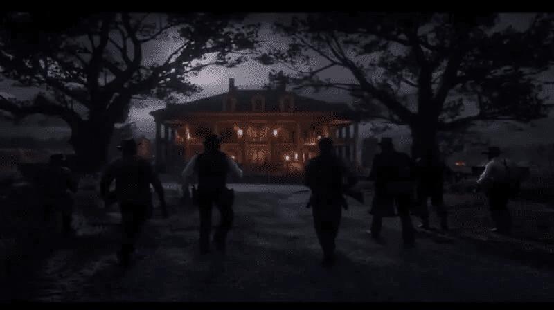 Red Dead Redemption 2 Braithwaite Manor