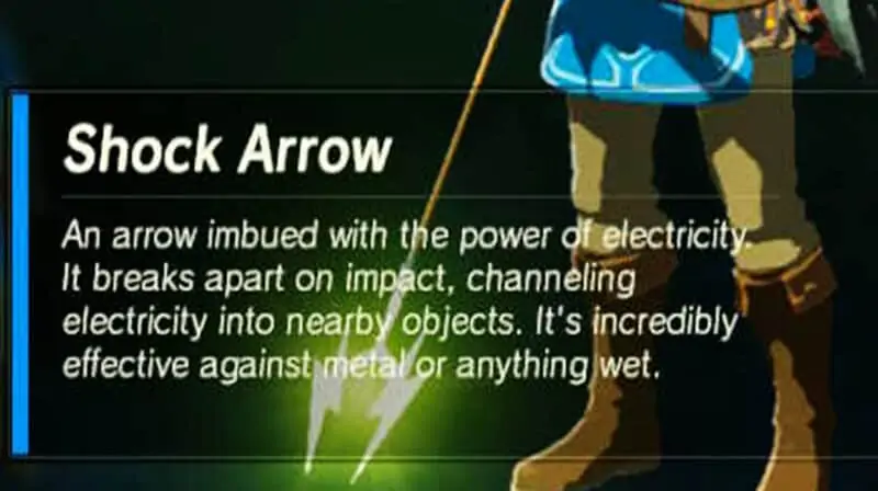 BOTW Vah Ruta Shock Arrow