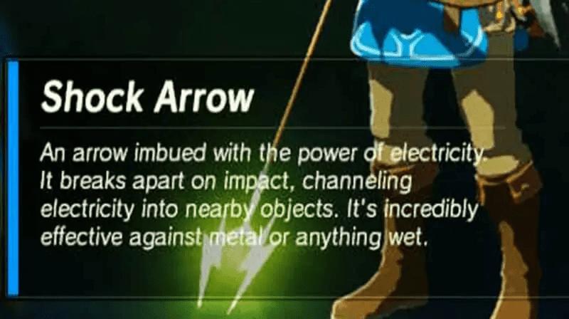 BOTW Vah Ruta Shock Arrow