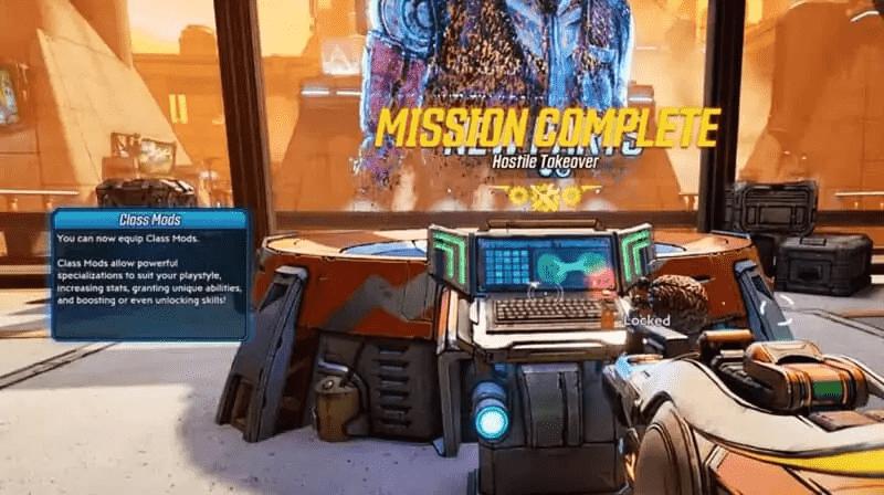 Class Mod Unlock Mission