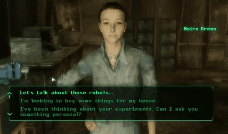 Fallout 3 Beauty Moira