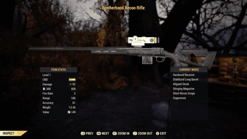 The Brotherhood Recon Rifle Build