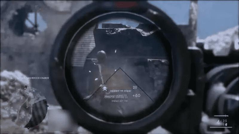 Gewehr in Action