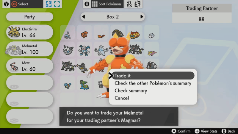 To get Magmortar, you must trade Magmar while holding a Magmarizer.