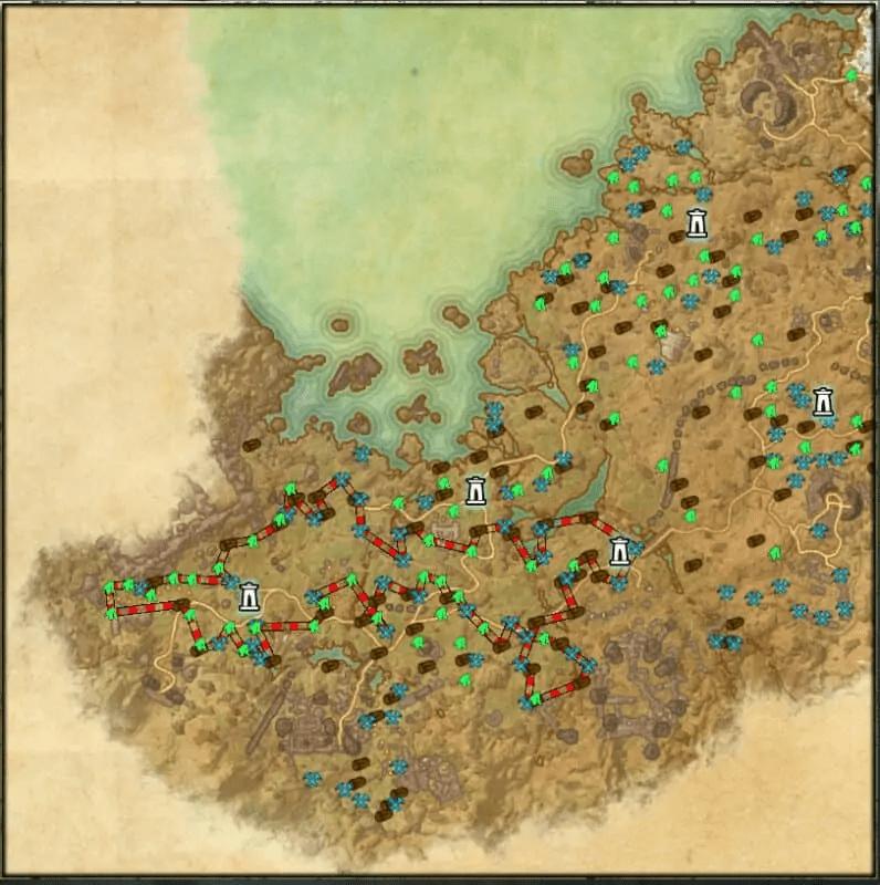 Harvest Map Add-on