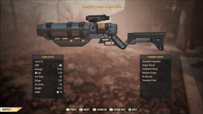 The Laser Sniper Rifle Build