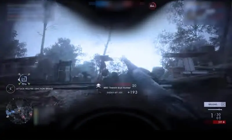 M97 Trench in Action