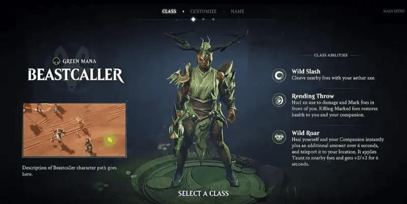 Magic Legends Beastcaller