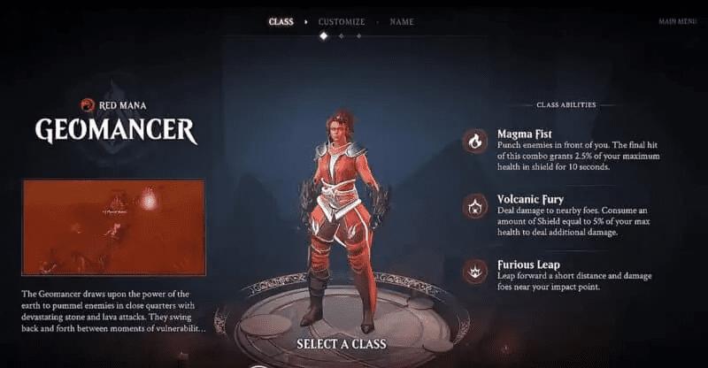 Magic Legends Geomancer