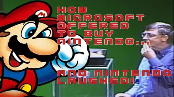 Mario Bill Gates XBox