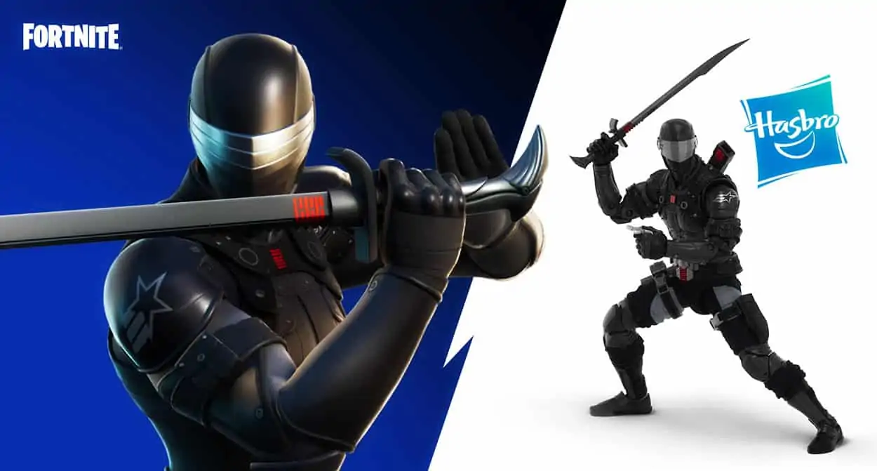 Snake Eyes Fortnite Hasbro