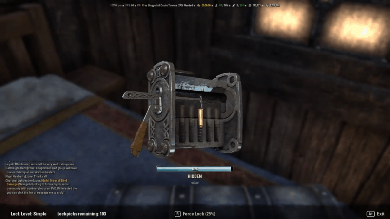 Stealing in Elder Scrolls Online