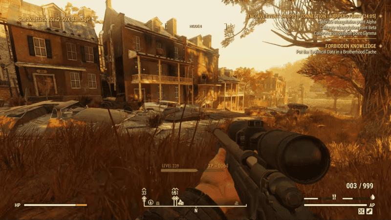 The Solo Sniper Build