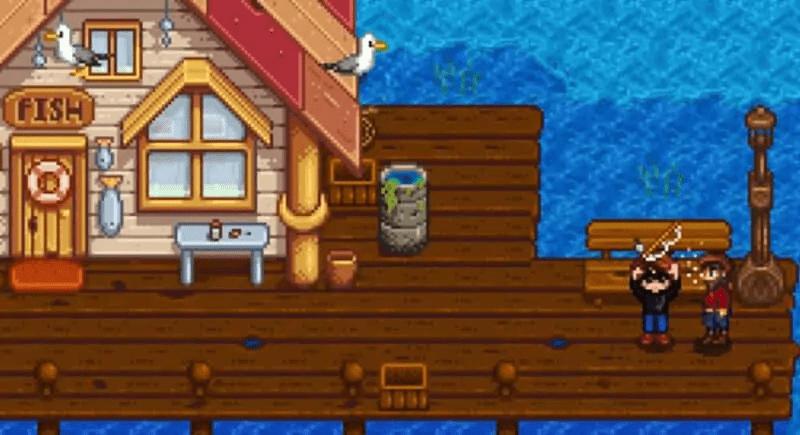 Willy Stardew Valley Fish Shop