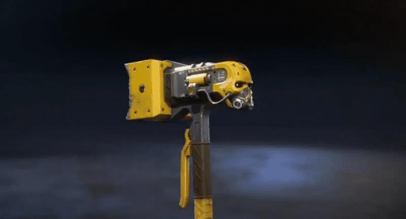Caustic's Heirloom Hammer