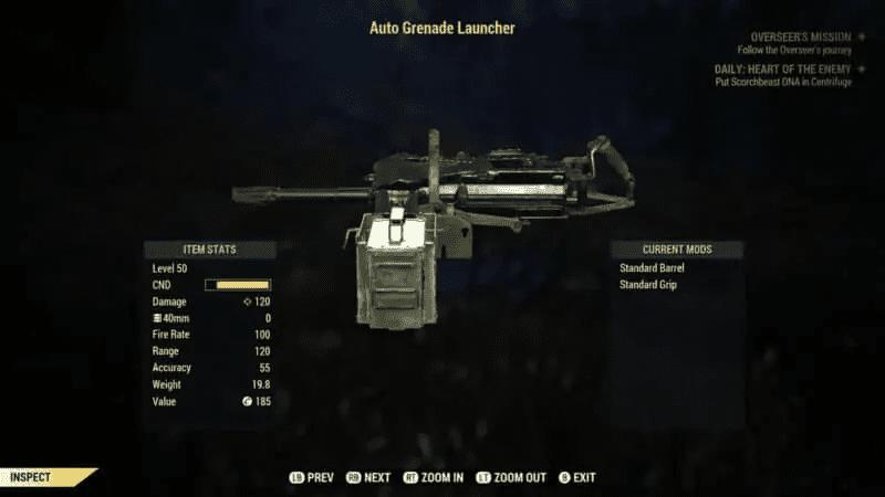 Auto Grenade Launcher