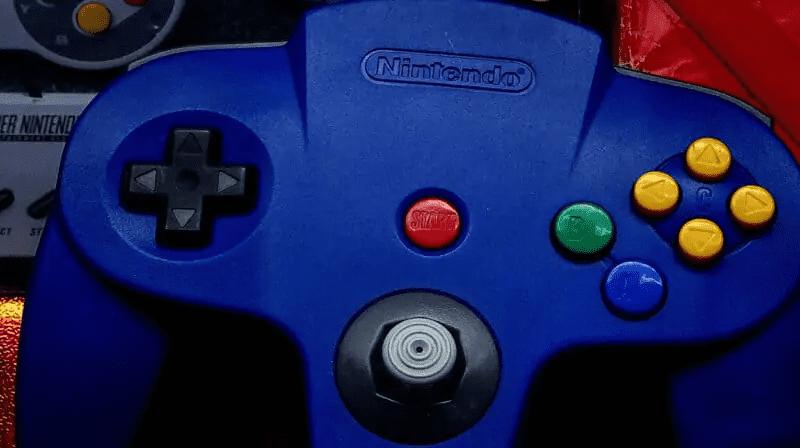 Nintendo-64-SNES-Controllers