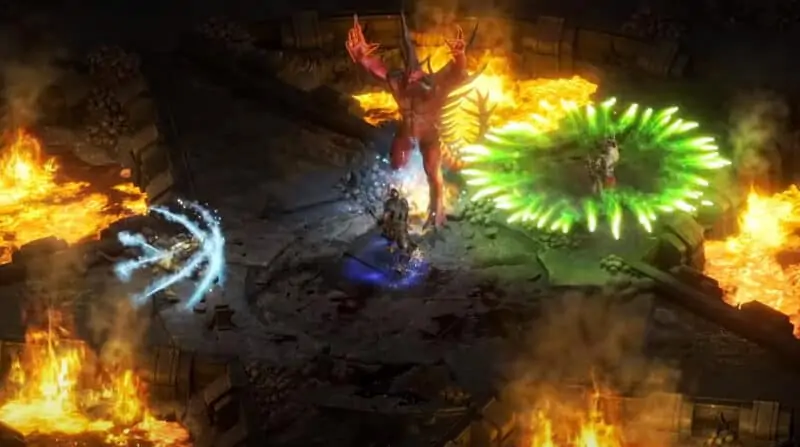 Diablo-2-Resurrected-Diablo-Fight