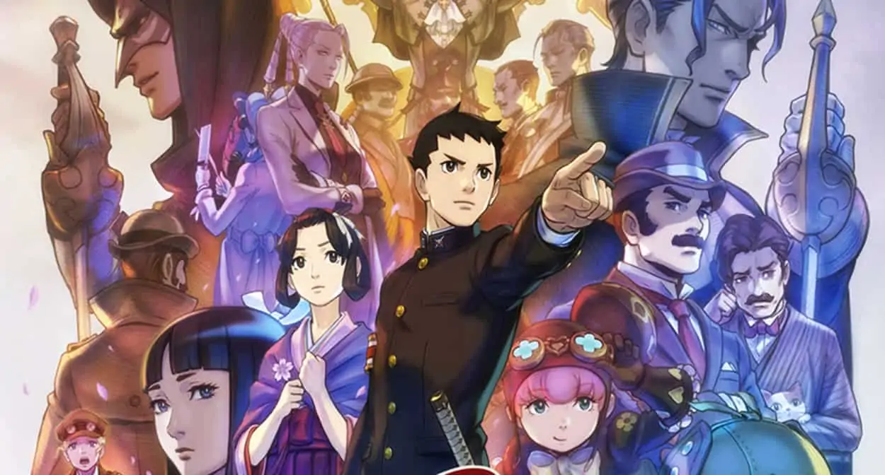 Great Ace Attorney-Nintendo-Switch-Lite