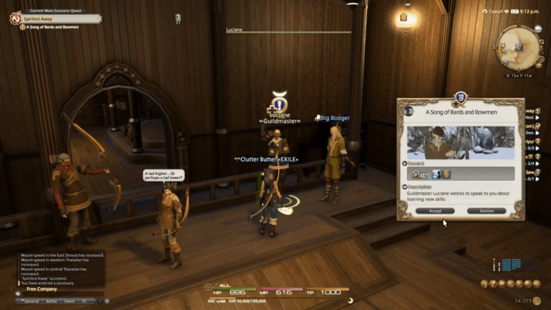 How to become a bard in FFXIV