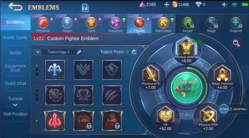 Mobile Legends Emblems