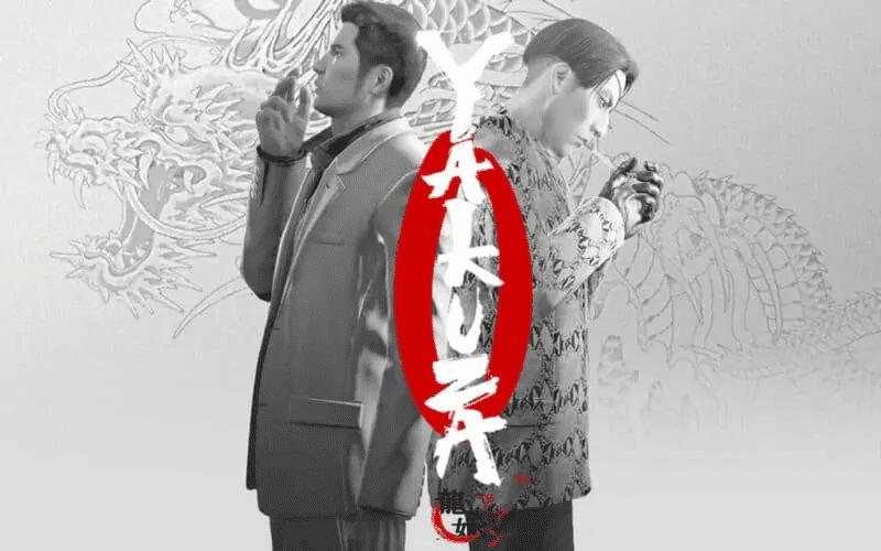 Kazuma Kiryu and Goro Majima