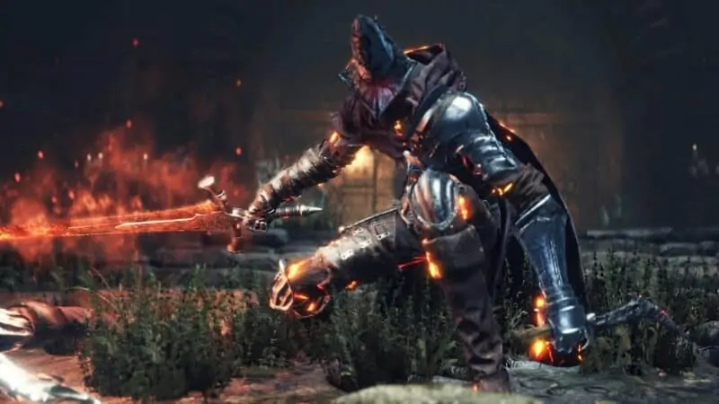 Abyss Watchers from Dark Souls 3
