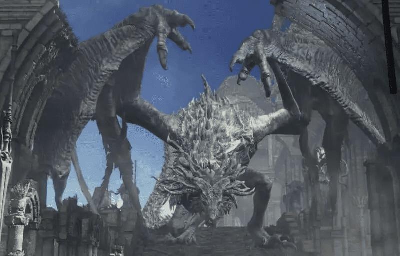 Ancient Wyvern from Dark Souls 3