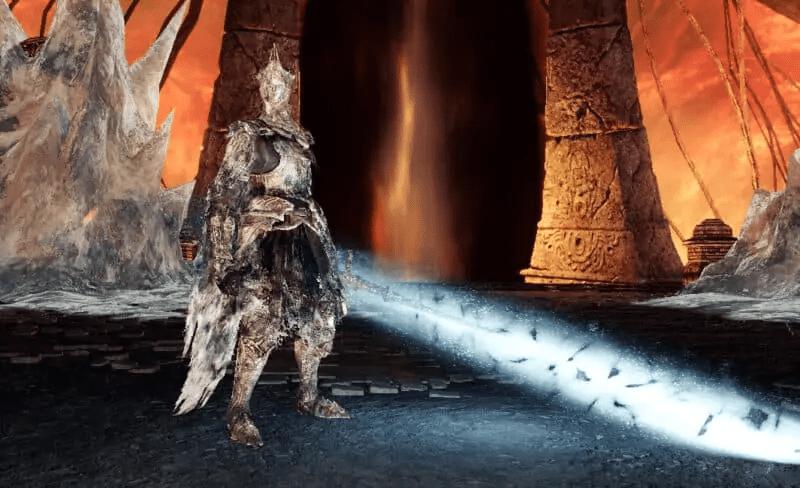Burnt Ivory King from Dark Souls 2