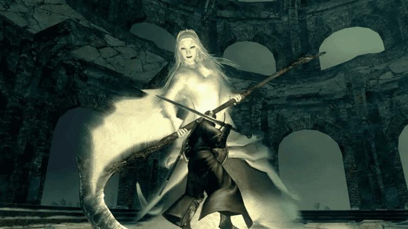 Crossbreed Priscilla from Dark Souls