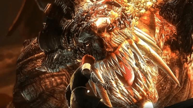 Dragon God from Demon's Souls