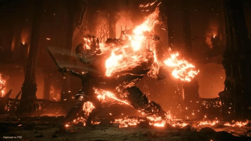Flamelurker from Demon's Souls