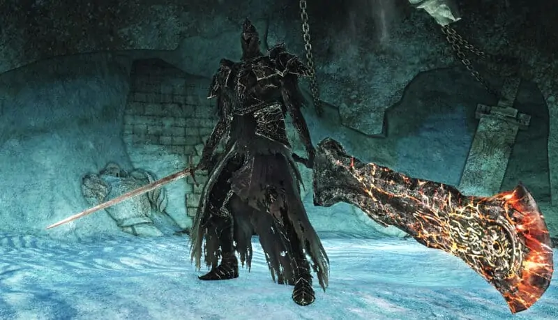 Fume Knight from Dark Souls 2