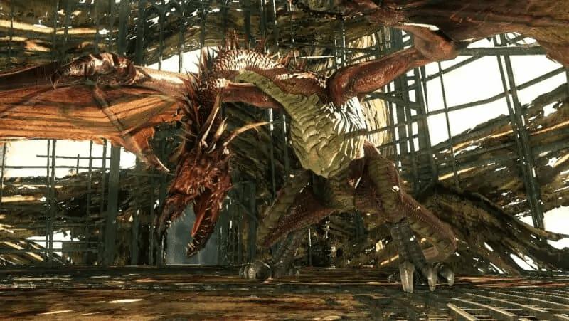 Guardian Dragon from Dark Souls 2