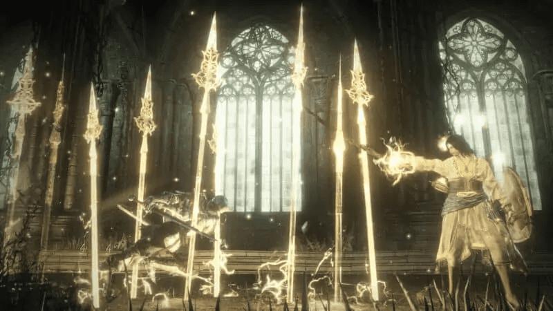 Halflight, Spear of the Church from Dark Souls 3